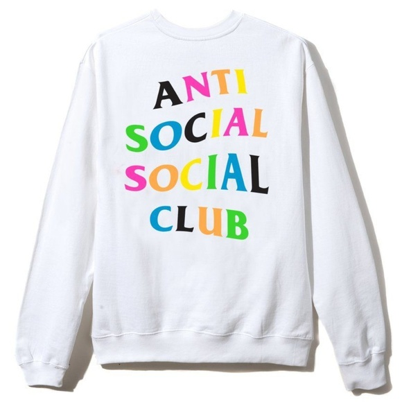 detailed look e88c6 16cda ASSC Anti Social Social Club Rainy Dayz Crewneck